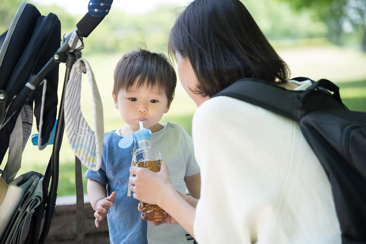赤ちゃんに水分補給させるタイミングは?