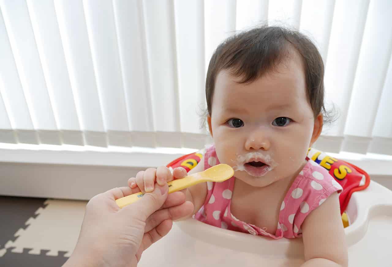 赤ちゃんにおすすめのヨーグルト